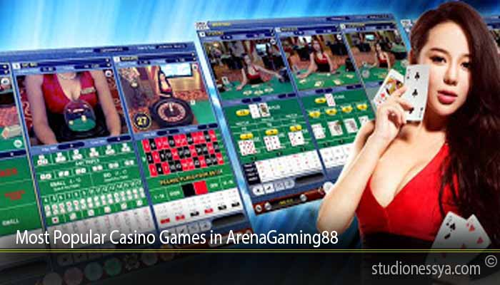 Most Popular Casino Games in ArenaGaming88